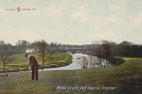 SOLD>Ref.142.Drymen Links,Home Green.Ref 142. C.1906 ?