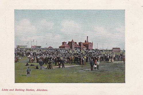 Aberdeen Golf Links/Bathing Station Ref 902 C.1910