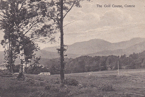 Comrie Golf Course & Club House (Ref 048) C.1930