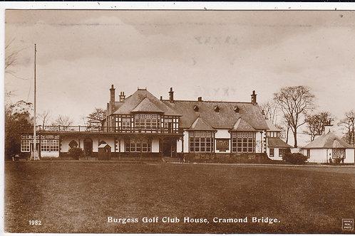 Burgess Golf Club House,Cramond Bridge Ref.603 Pre 1914