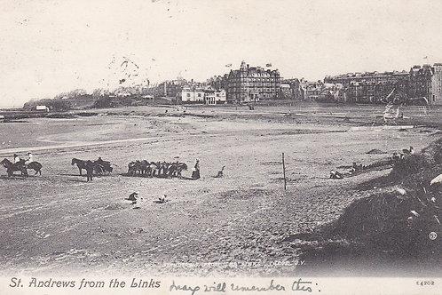 St Andrews & West Sands C.1908 Ref.1209a