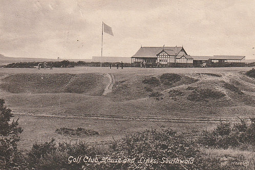Southwold Golf Links & Pavilion Ref.2596 C.pre 1914
