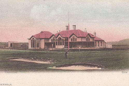 Elie Golf Club House.(The Golf House Club) C.1905 Ref.1074a