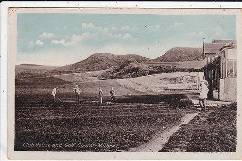 Millport Golf Course & Club House Ref.1220 C.1910