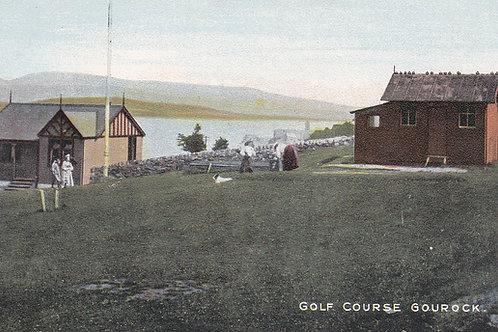 Gourock Golf Links,Glasgow.Ref 406. C.Early 1900