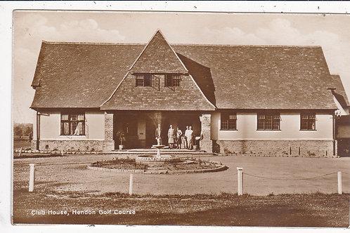 Hendon Golf Club House C.Early 1900s Ref 1432