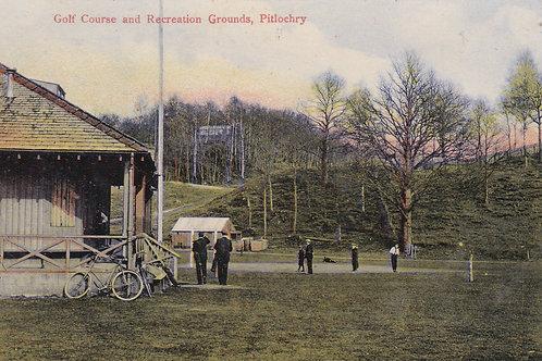 Pitlochry  Golf Course/Rec.Ground  C.1907 Ref.939