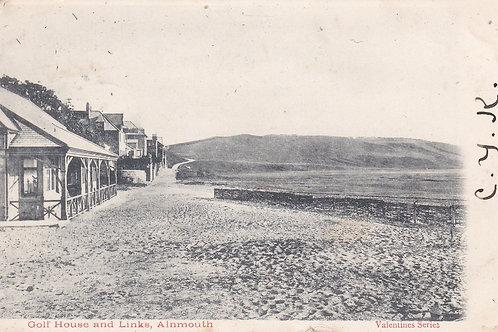 Alnmouth Village Club  Pavilion Ref 170 C.1903