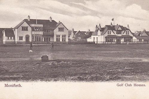 Monifieth Golf Club Houses.Ref 651. C.1904-6