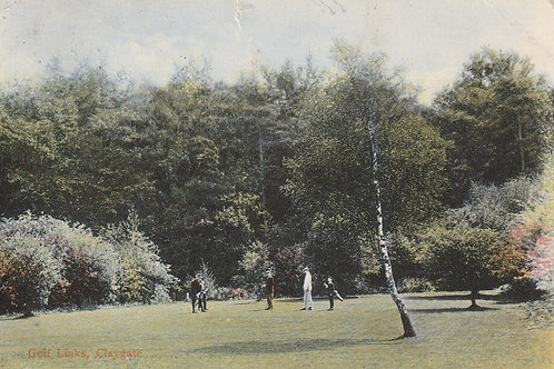 Claygate Golf Links,Ref.2293a C.1905