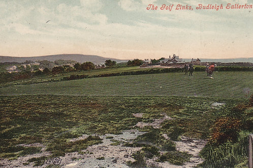 Budleigh Salterton Golf Links.Ref 010. C.E.1900-07