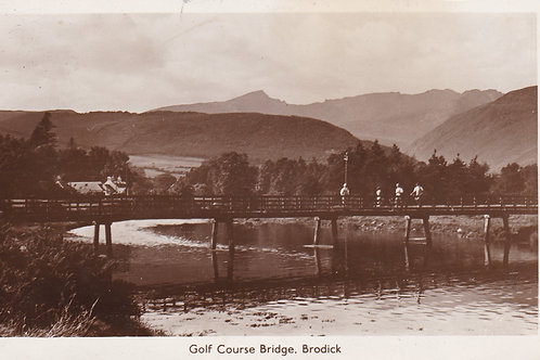 Brodick Golf Course,Arran Ref.1792a C.1949