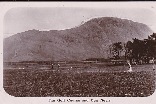Fort William Golf Course.C.Ea 1900s Ref.527