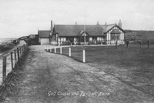 SOLD>Ref.1861.Nairn Golf Pavilion C.Pre 1914 Ref.1861