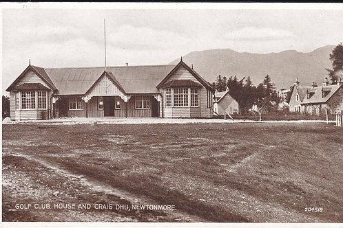 Newtonmore Golf House Ref.1726 C.1925-35