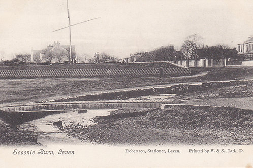 Leven Links & Scoonie Burn.Ref 412. C.Early 1900s