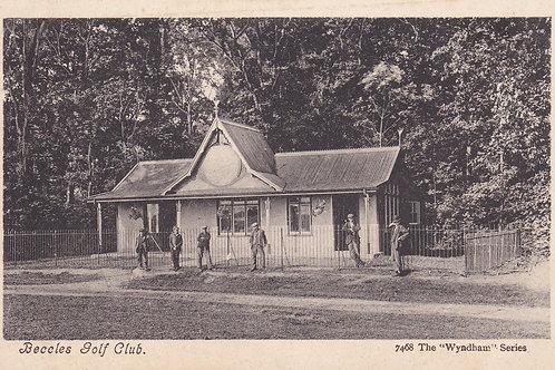 Beccles Golf Club House,Suffolk.Ref 380 C.Pre 1914