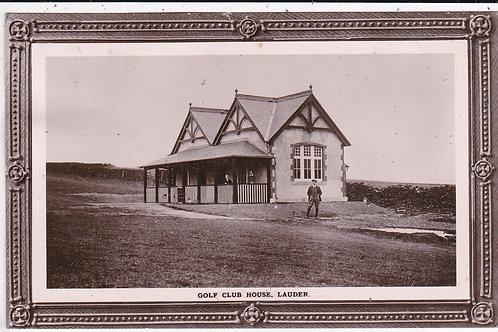 Lauder Golf Club House Ref.1533 C.Ea.1900s