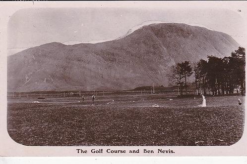 Fort William Golf Course C.1910 Ref.950