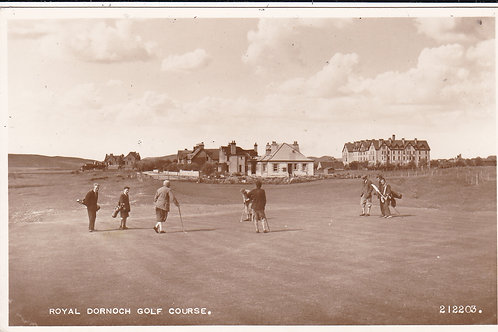 Dornoch Golf Links Ref.264