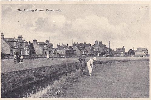 Carnoustie Putting Green Ref.1141 C.Ea 1900s
