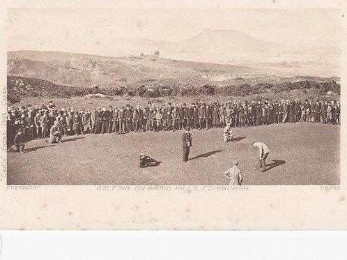 Braid Hills.Dispatch Trophy .Ref 873  C.1900-03