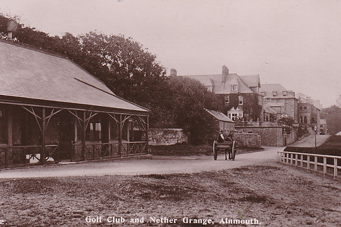 Alnmouth Village Golf PC Ref.2206a C.Ea 1900