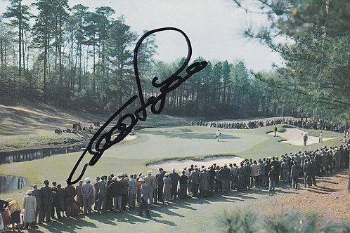 SOLD>Ref.349.B.Langer Signed US Masters P/C Ref 349. C.1980s