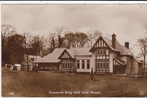 Cramond Brig Golf Club House ref.604 C.pre 1914