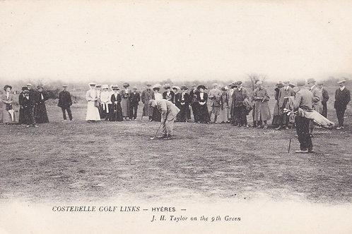 Costebelle Links,Hyeres.J.H.Taylor   C.Ea 1900s Ref.1883