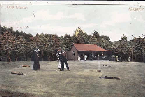 Kingussie Golf Course & Pavilion Ref.1334 C.1906