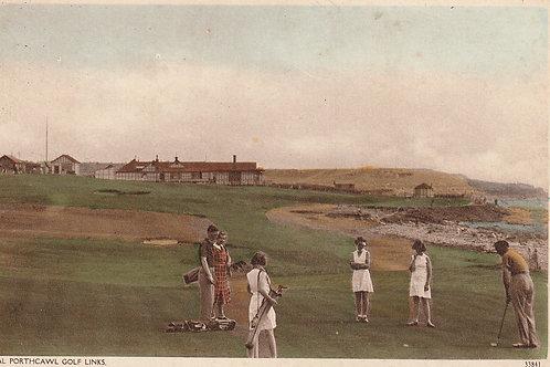 Porthcawl (Royal) Golf Links & Pavilion Ref.2369