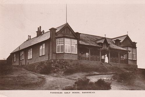 Fereneze Golf House, Barhead Ref.2713 C.1913