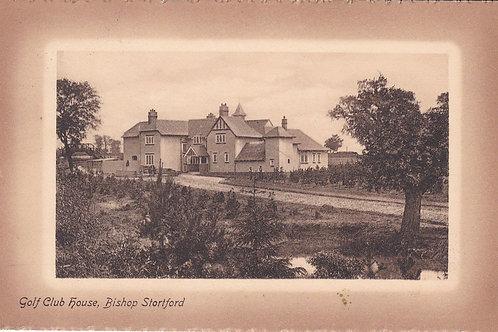 Bishop's Stortford Golf House Ref.2231a C.Pre 1914