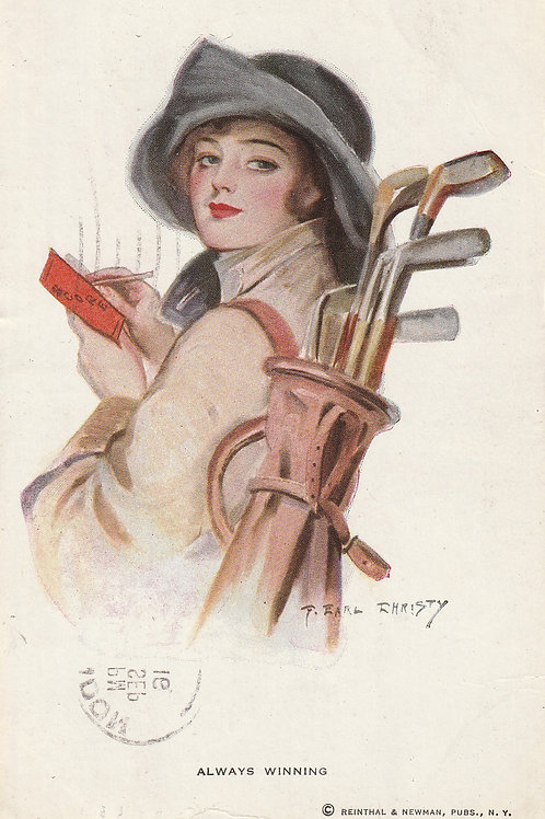Golf Art/Fashion PC Ref.2570 C.pre 1916