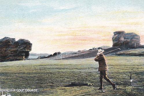 Aberdour Golf Links, Fife circa 1910 (Ref 212)
