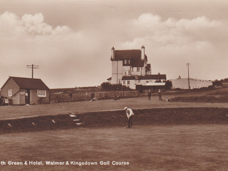 Scarce Walmer & Kingsdown Golf Club Postcards.