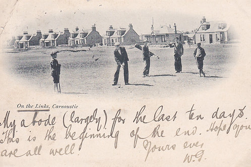 Carnoustie (On the Links)C.1902 Ref.513a