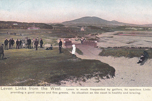 Leven Links from the West Ref.1877 C.1909