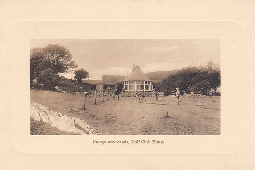 SOLD>Ref.707.Grange -over-Sands Golf Club House c.1908-9