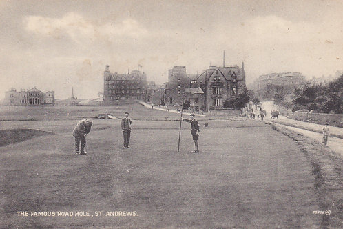 SOLD>Ref.737.A.Kirkcaldy Putting/Road Hole.Ref 737 C.1920s