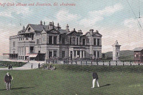 Tom Morris at St.Andrews.Ref 351. C.1902-05