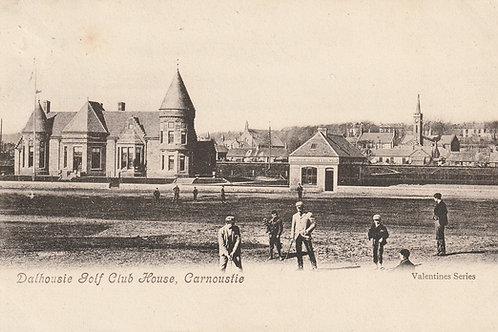 Carnoustie. Dalhousie Club House Ref.2671 C.1906