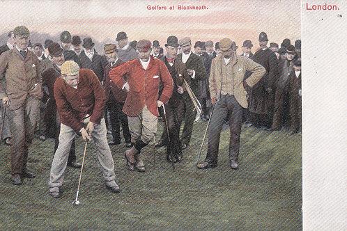Blackheath Golf Match Ref.1139 C.Pre 1914