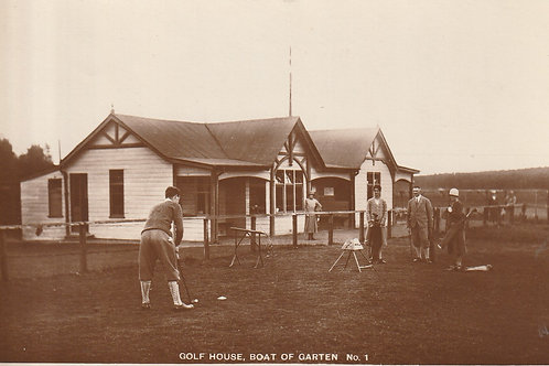 Boat-of-Garten Golf Pavilion & 1st Tee Ref.2611 C.1920-30