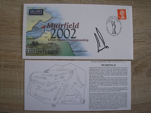 Muirfield 2002 Signed Comm.Cover Ref.070