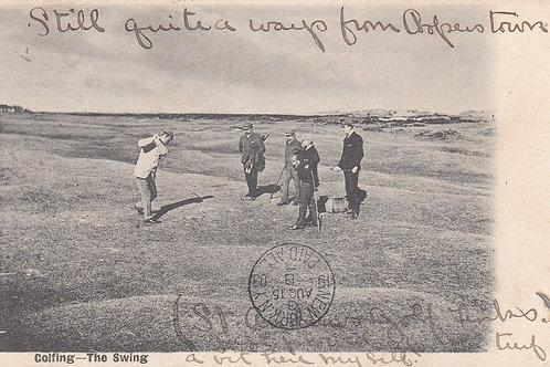 SOLD>Ref.825.St Andrews,(Hugh Kirkcaldy at)  Ref 825   C.1903