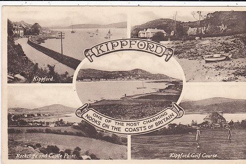 Kippford Golf Course Ref.162 C.1951