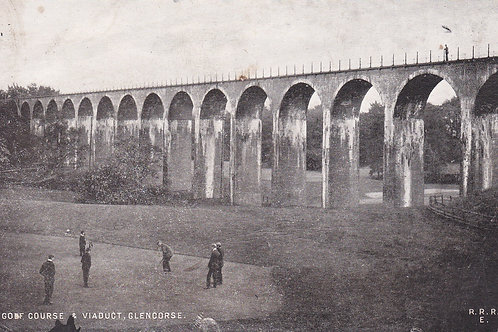 Glencorse Golf Course & Viaduct,Penicuik Ref.549a