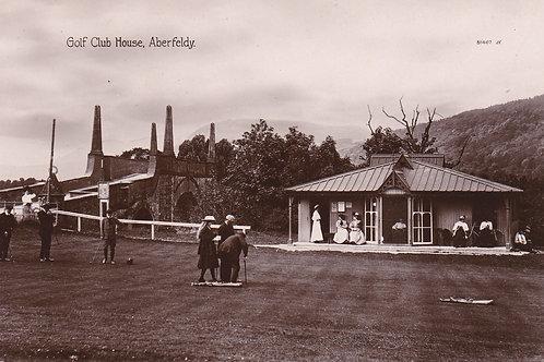 Aberfeldy Golf Club House,Ref 294. C.Early 1900s